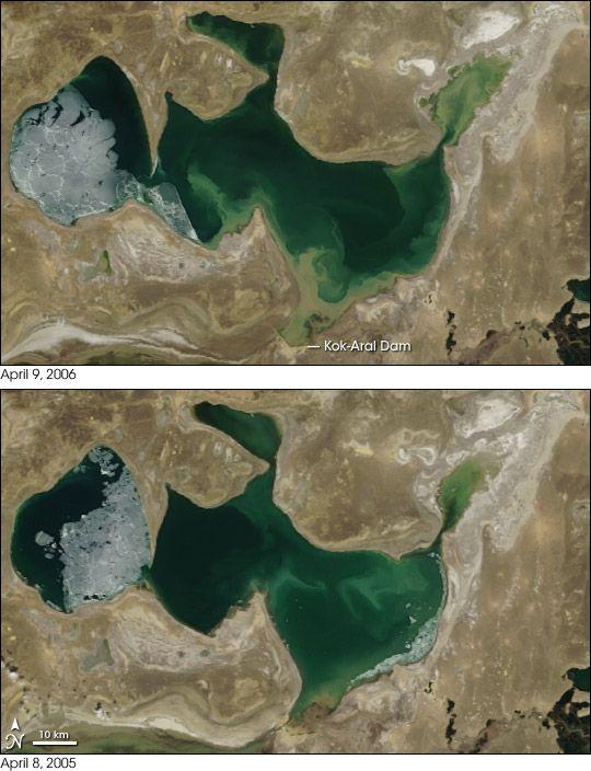 AralSea_ComparisonApr2005-06.jpg
