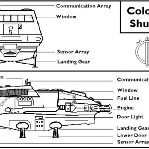Schematics - Colonial Shuttle