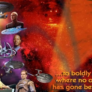 star trek throughout the years