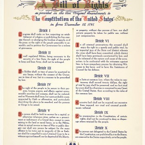 US Bill of Rights