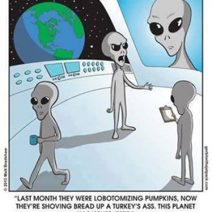 Earthlings are pretty messed up!