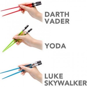 Lightsabre Chopsticks