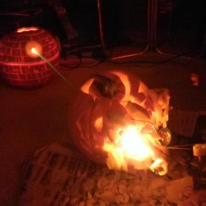 Deathstar Pumpkin Battle
