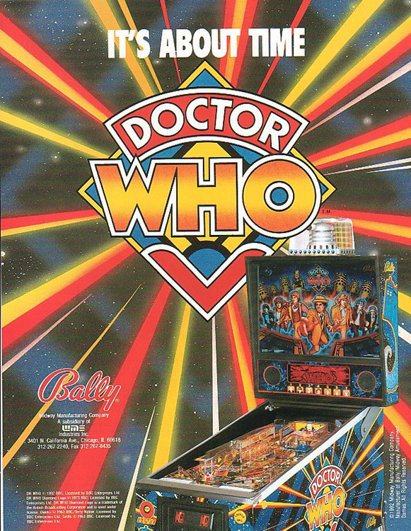 Dr. Who Pinball Game