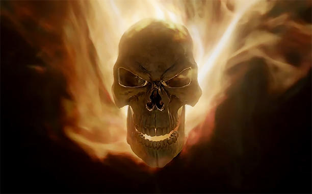 Ghost Rider from Agents of SHIELD