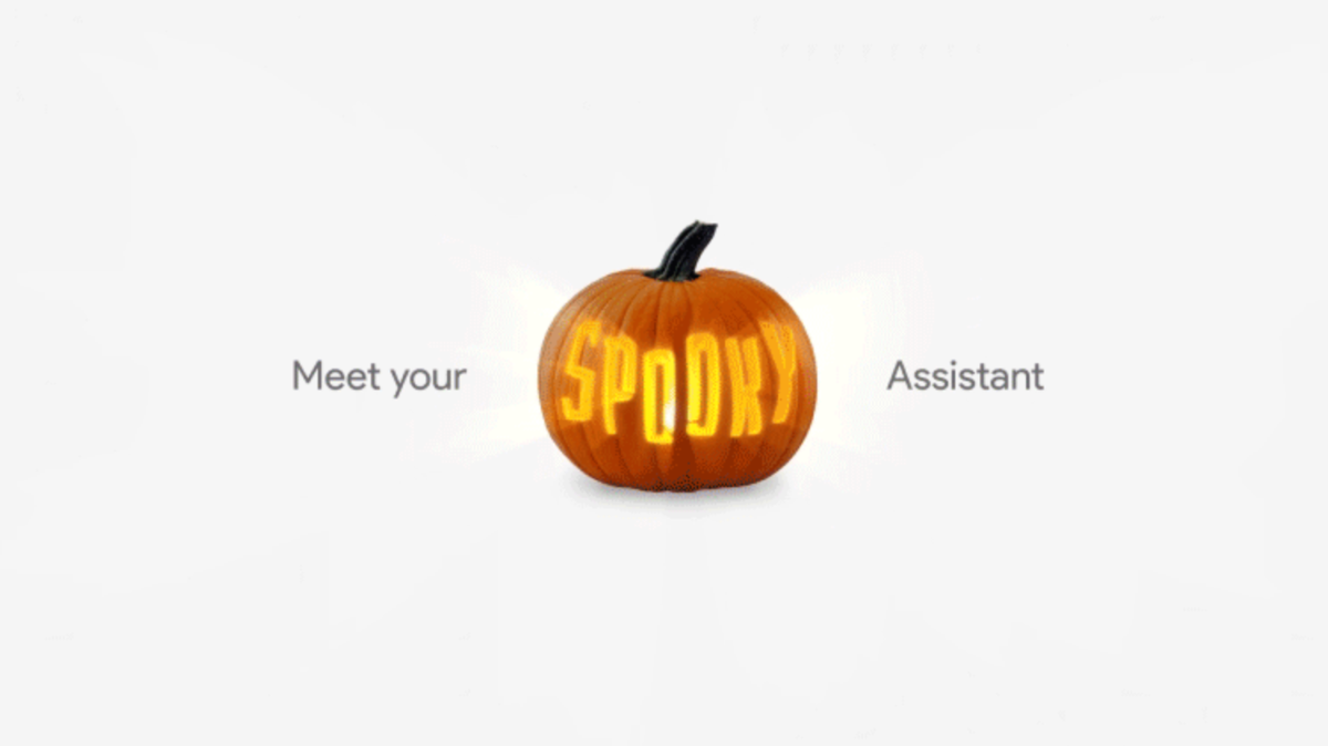 Google Home Assistant Halloween